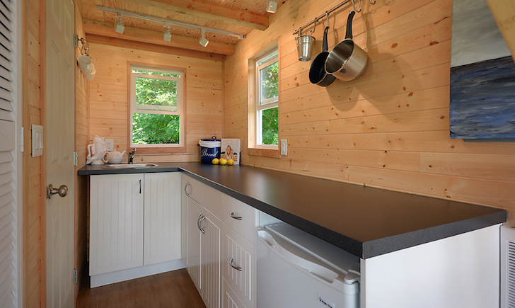 Kitchen in tiny house
