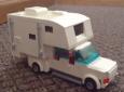 LEGO truck camper