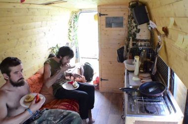 This Time-Lapse Video Of Life Inside A Campervan Will Take Away Your Fear Of Small Space Living