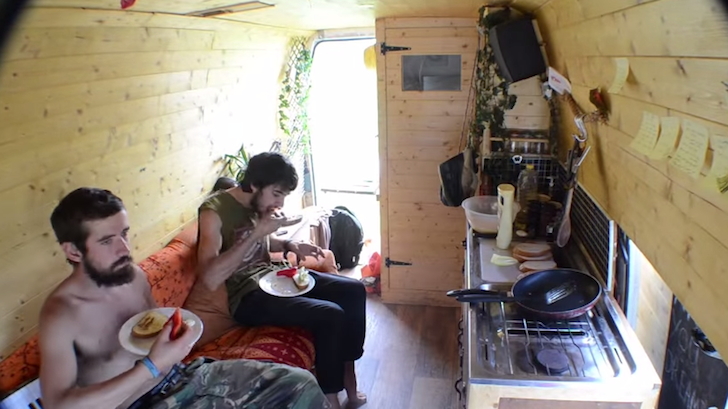 Time Lapse Video Of Life Inside A Campervan