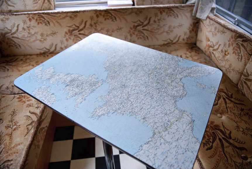 Map table inside the Gipsy