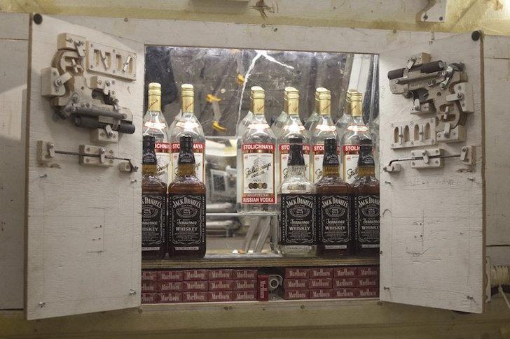 Plenty of booze onboard