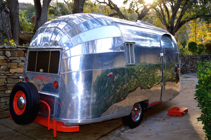 Rare Airstream travel trailer