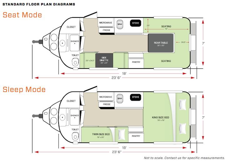 Standard Legacy Elite II Floorplan