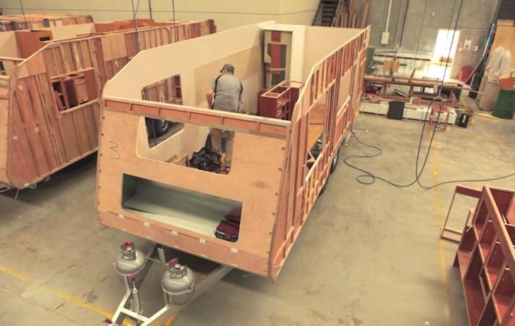 Mesmerizing Time Lapse Build Of A Concept Caravans Camper