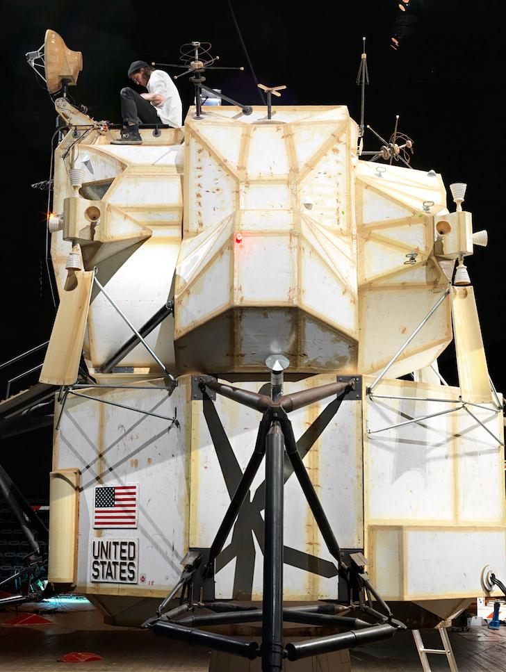 Tom Sachs designed this Mars lander