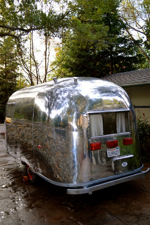 Vintage Airstream Caravel trailer