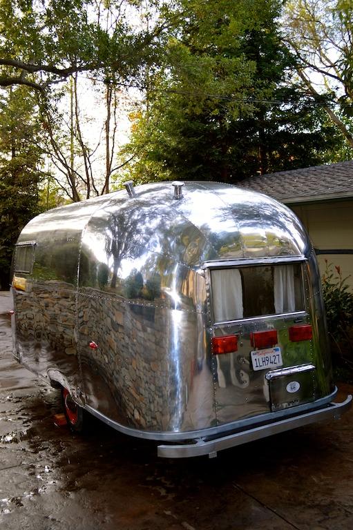 Vintage Airstream Caravel trailer