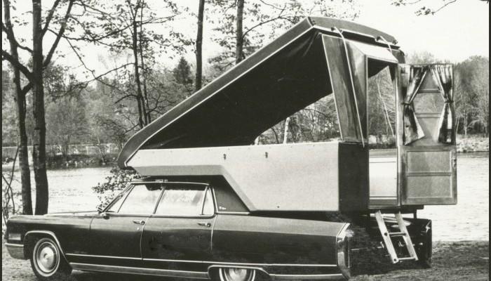 Vintage Cadillac DIY camper