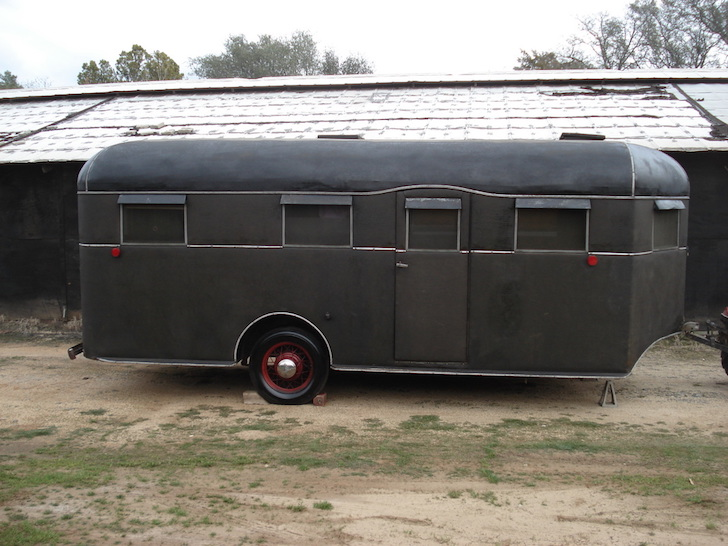 Vintage trailer from 1936