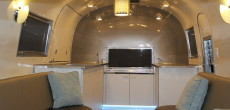 1960 Airstream Flying Cloud mobile bar