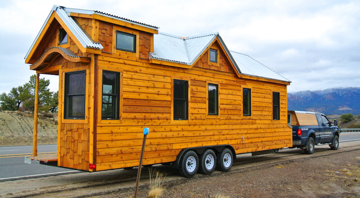 30 Foot Trailer House Made For A Family In The Texas Hill Country [VIDEO]