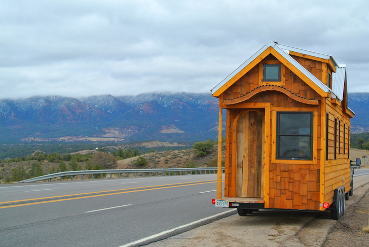 30 foot long tiny mobile home