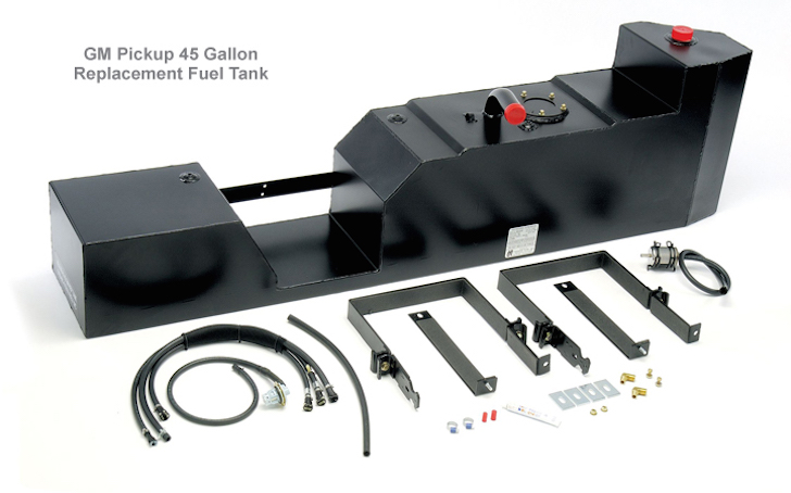 45 gallon replacement fuel tank for GM truck
