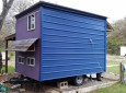 Brightly Colored 84 Square Foot Tiny House Built On A Trailer