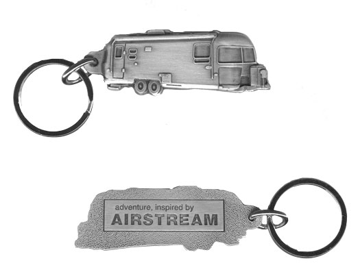 Airstream Pewter Keychain