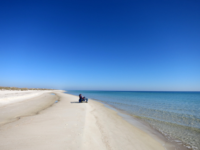 Beach at St George Island in Florida
