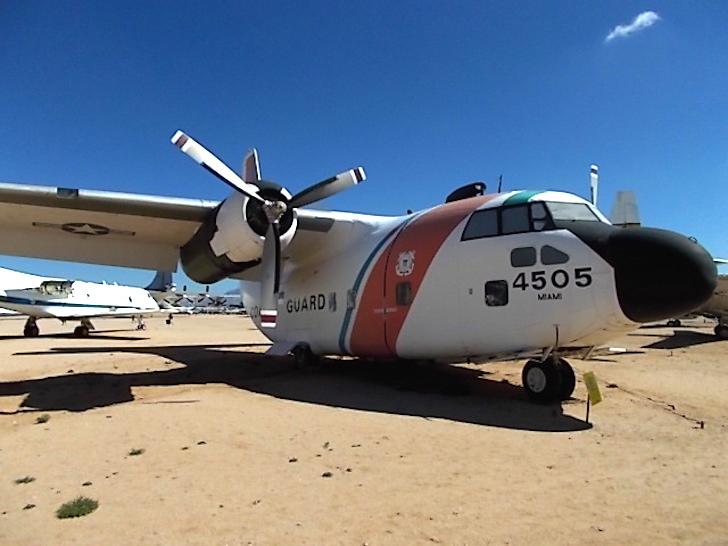 C-123B airplane