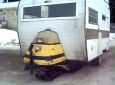 DIY Snowmobile camper