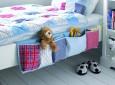 DIY bedside organizer