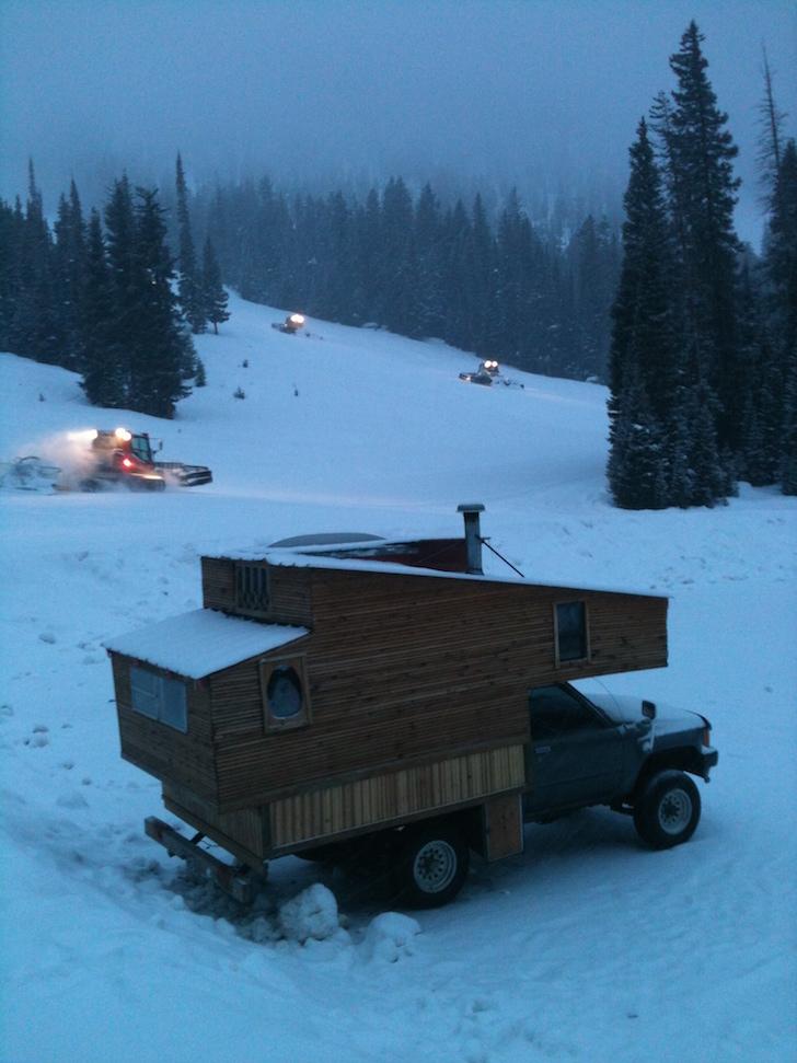 DIY truck camper