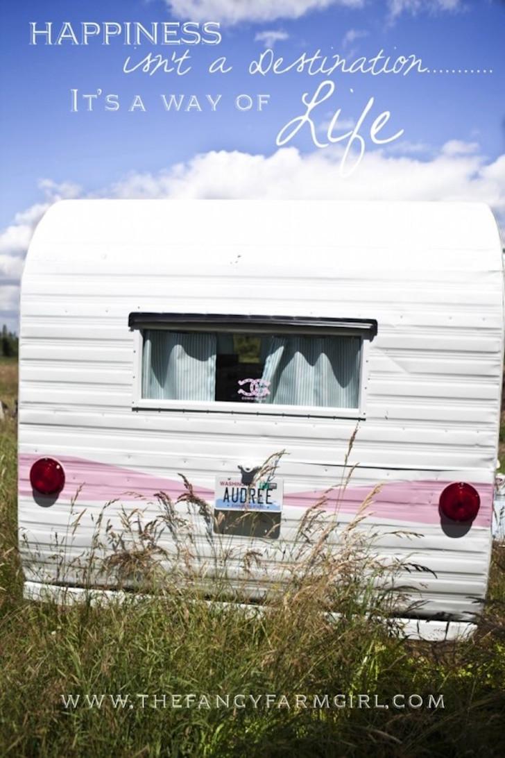 Doll like camper
