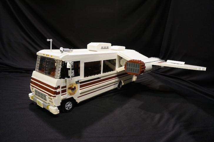Eagle 5 LEGO model