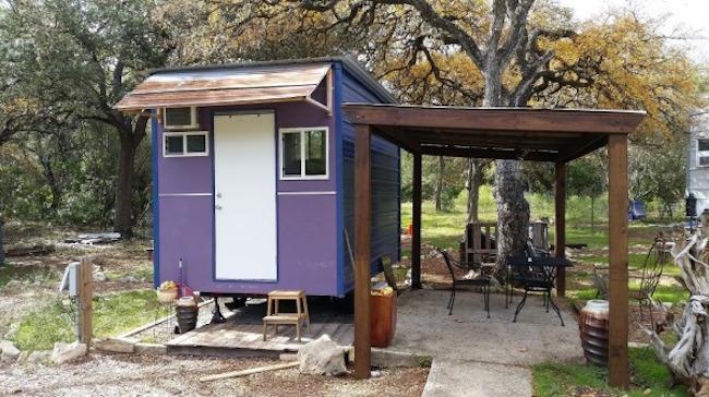 Ethan Ramirez tiny house