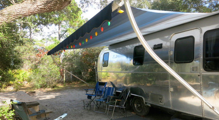 Grayton Beach Campground site