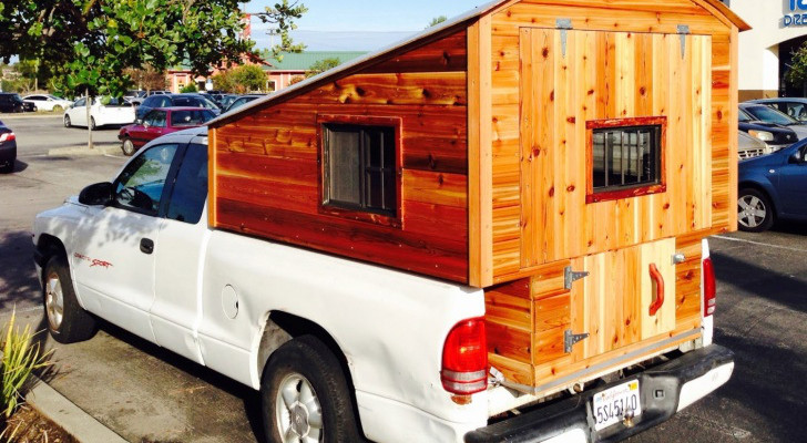 Homemade Truck Camper Spotted In San Rafael, California [Photo]