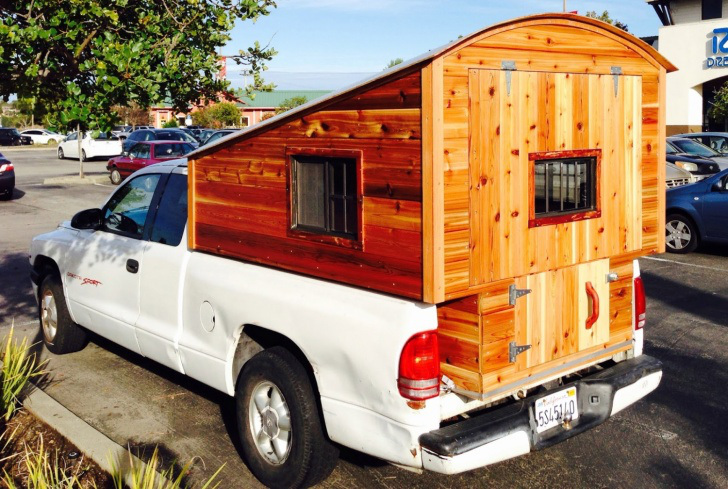 Homemade Truck Camper Spotted In San Rafael California