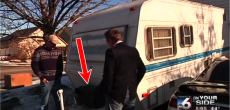 How thieves steal RV batteries