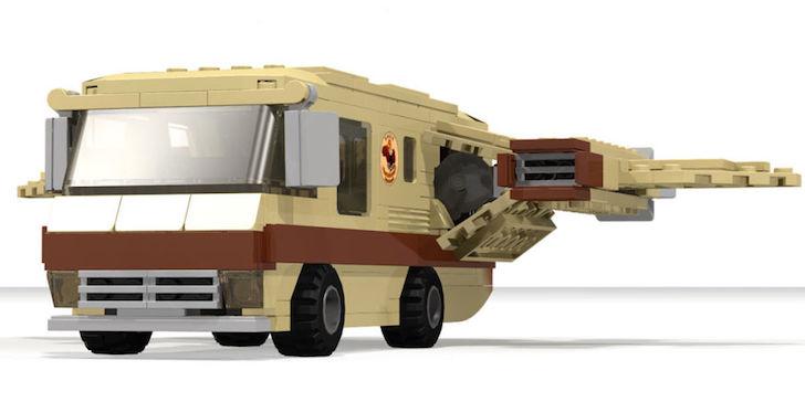 LEGO Ideas Eagle 5 Spaceship set
