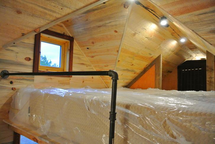 Loft of a mobile house