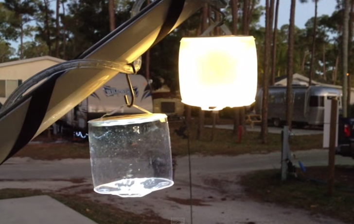 & Unique RV Product: Luci Light Inflatable Solar-Powered Lamp