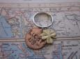 Penny key chain Valentine's gift