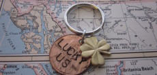 Make A Homemade Penny Keychain For Your Camping Valentine