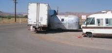 Semi-trailer-hitting-Airstream-trailer