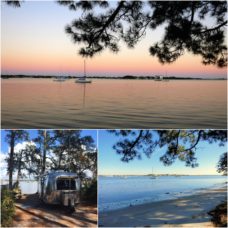 St Andrews State Park in the Florida Panhandle