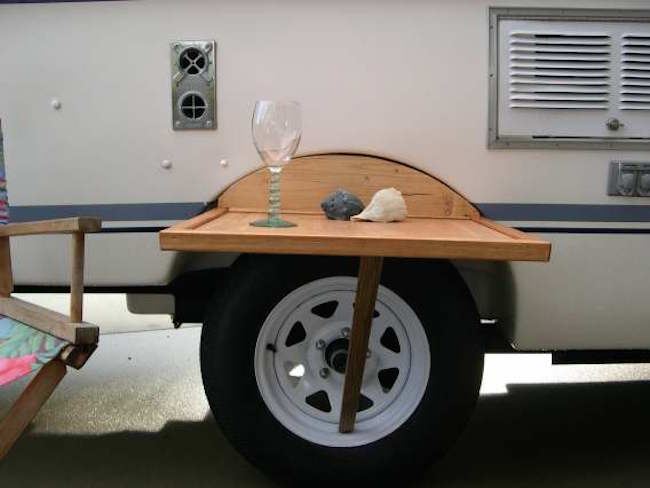 Unique Rv Dinette Table Wall Mount