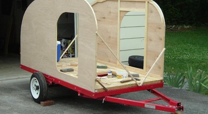 This Tiny Teardrop Camper Named After A Homebuilt Aircraft Design Is The Perfect Mini RV