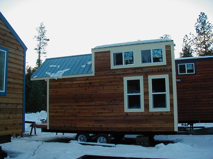 Tiny house from the outside