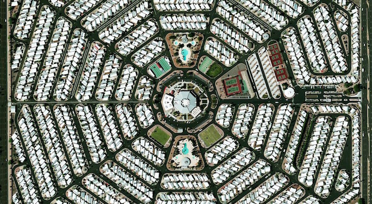 Rock Band Puts Satellite Image Of Arizona RV Park On New Album Cover