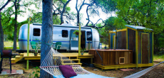 Super Cute Vintage Airstream Retuned As Weekend Retreat