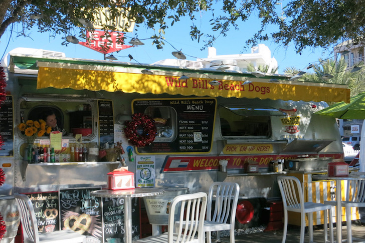 Wild Bill Beach Dogs in Grayton Beach Florida