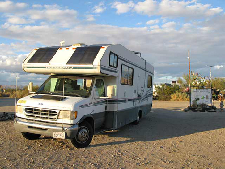 Solar Power Rv Inventor Demonstrates Energy Independence