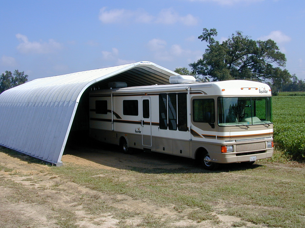 Keep your RV tires in good shape. Photo by SteelMaster Buildings/Flickr