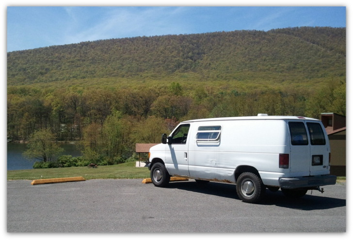 Ford E350 DIY Van Conversion