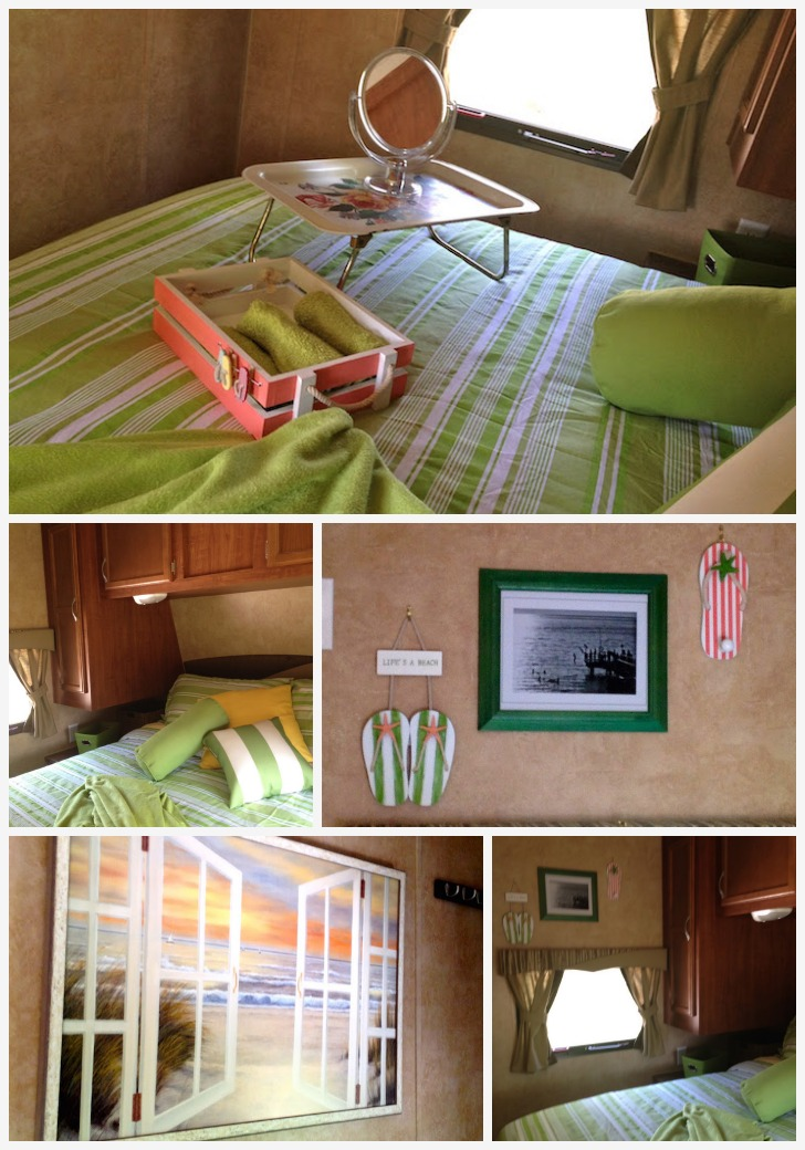 Bedroom redesign in small RV