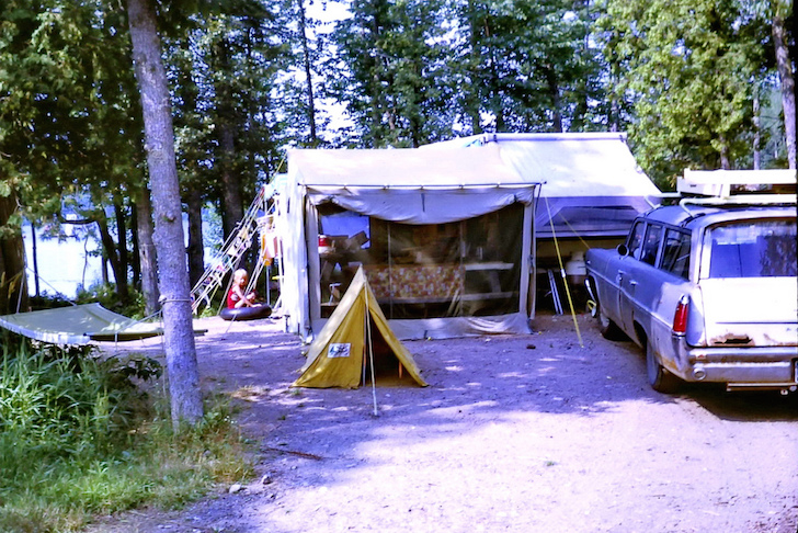 Camping in 1969